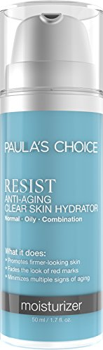 Paula's Choice-RESIST Anti-Aging Clear Skin Hydrator Moisturizer-for Facial Blemishes, Sun Damage, Wrinkles, Discoloration-1.7 oz Bottle -