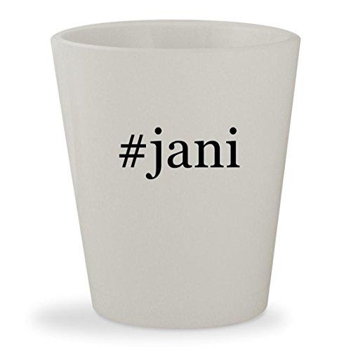 Price comparison product image #jani - White Hashtag Ceramic 1.5oz Shot Glass