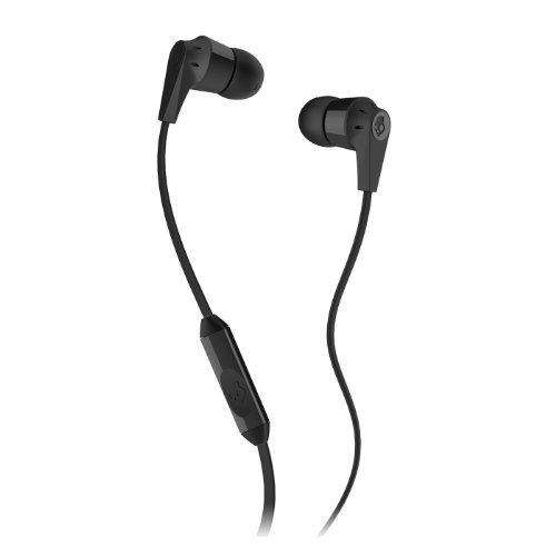 Skullcandy Ink'd 2.0 Earbud with Mic, Black Vengo (Earbuds Mm Inkd 11)