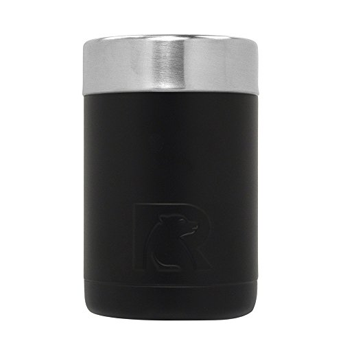 RTIC 297 Cooler Insulated Can, 12oz, Black