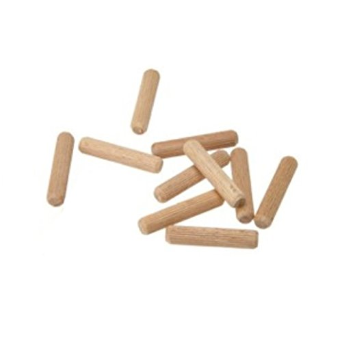 Pack of 10 Wooden Dowels 8mm x 30mm Just 99p
