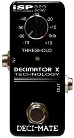 ISP Technologies DECI-MATE G Micro Noise Reduction PedalLoop Connections