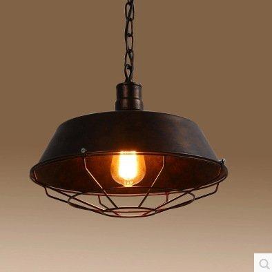 Leihongthebox Iluminación colgante Loft retro tapa colgante ...