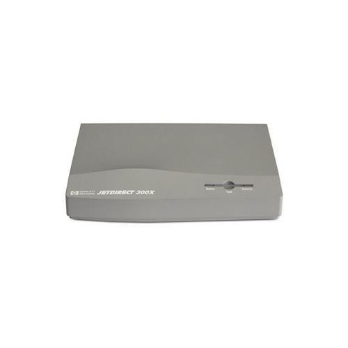 Hewlett Packard HP JetDirect 300X 10/100Base-TX Parallel Print Server J3263G#ABA