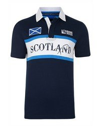 RWC 2015 Men's Scotland Rugby Jersey Medium Navy