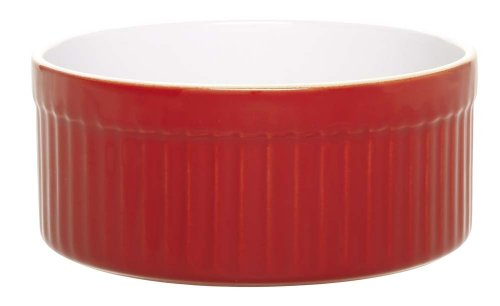 Emile Henry 2-Quart Souffle Dishes, Cerise