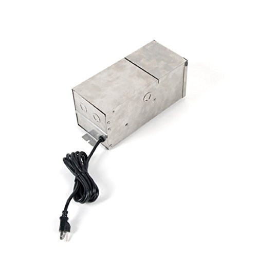 WAC Lighting 9075-TRN-SS WAC Transformer 75W Magnetic Landscape Lighting Power Supply in Stainless Steel, Max by WAC Lighting