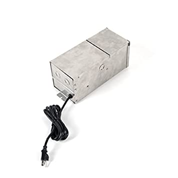 amazon com wac lighting 9075 trn ss wac transformer 75w magnetic wac lighting 9075 trn ss wac transformer 75w magnetic landscape lighting power supply in