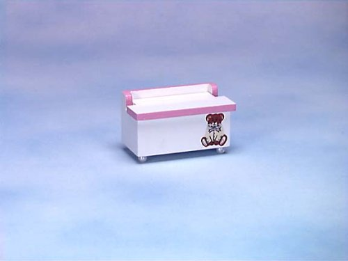 Dollhouse Miniature Toy Chest from International Miniatures