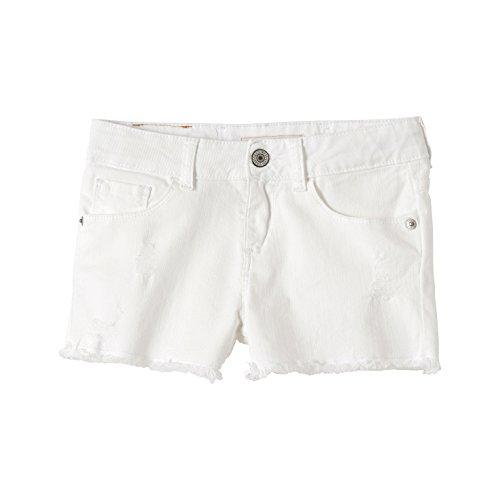 Nl26587 Fille 01 Levi's white Blanc Short a0HqwBxq