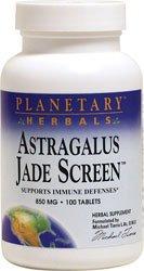 Планетарные Herbals Астрагал Jade экрана 100 таблеток