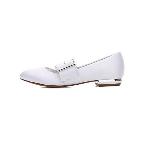 El mejor regalo para mujer y madre Mujer Zapatos Satén Primavera Verano  Confort Bailarina Zapatos de 87440ae7fd0