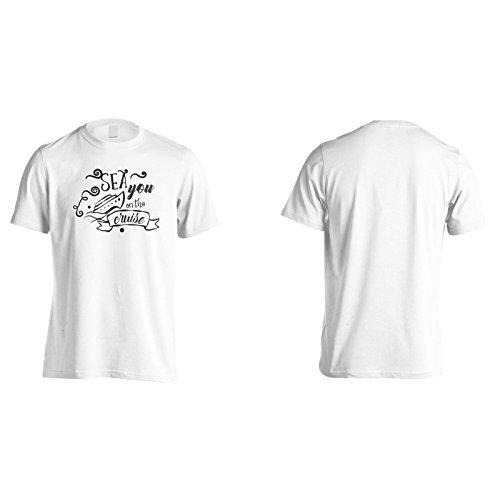 Meer Sie Auf Der Kreuzfahrt Herren T-Shirt n832m