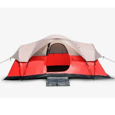 6-Person of Red Outdoor Camping Barton Tent: Garden & Outdoor