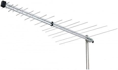 Eurosell DVB-T + DVB-T2 UHF TV/Radio Antena Exterior ZB para ...