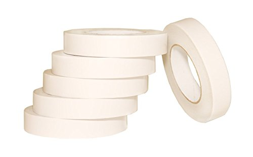 AJ Sign World (Pack of 6 1 Heavy Duty Banner Hem Double Sided Permanent Tape (1-Inch x 164-Feet/55 Yard) New Strength!