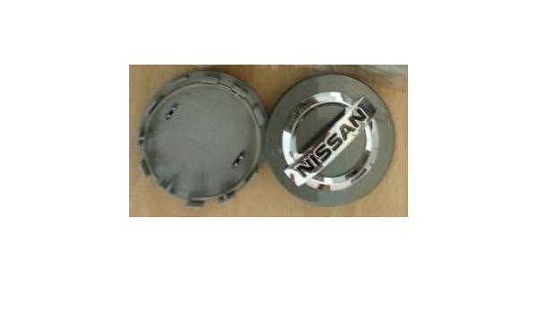 1 x Nuevo Centro de rueda de aleación de auténtica para Nissan Juke Tapa Tapacubos Cubierta gris: Amazon.es: Coche y moto