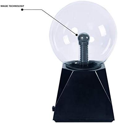 Blue Light Globe Static Lamp Touch Sound Sensitive Plasma Ball 5 Inch Magic Plasma Light 220V DAXGD Plasma Ball Light