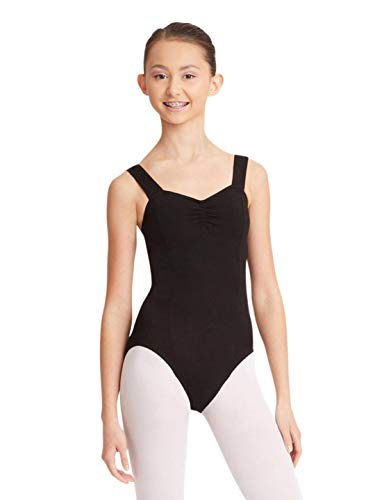 Capezio Women's Princess Tank Leotard,Black,Medium