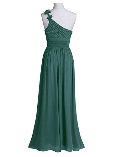 iEFiEL Damen Elegant Chiffon Kleid festlich Sommerkleid Partykleid ...