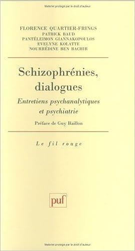 Livres gratuits en ligne Schizophrénies, dialogues epub, pdf