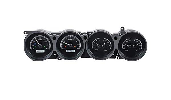 Dakota Digital 70 - 74 con CUDA de Dodge Challenger Rallye Dash calibres negro aleación blanco vhx-70d-clg-k-w: Amazon.es: Coche y moto
