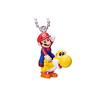 Amazon.com: Super Mario Galaxy 2 Llavero Figura – foco de ...