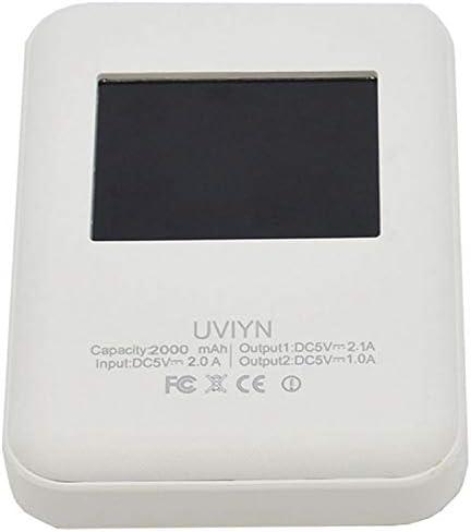 con Pantalla ACAMPTAR UHF//VHF WiFi LCD Hotspot Digital MMDVM Soporte DMR P25 YSF QSo Bater/ía Incorporada