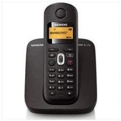 Gigaset AL170 - Teléfono (Teléfono DECT, 40 entradas, Negro): Amazon.es: Electrónica