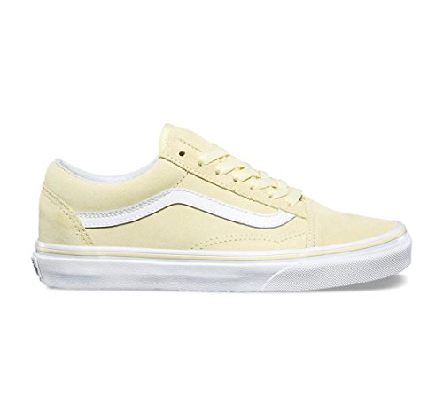 Vans Damen Old Skool (Wildleder) Tender Yellow / True White