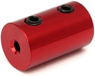 2mm-2.3 mm EsportsMJJ Aluminio Aleaci/ón Acoplamiento Eje Rojo Acoplador con Llave Hexagonal Y Tornillos Conector De Acoplamiento De Motor