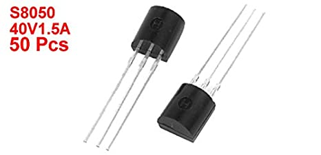 S8050D 100 Pieces NPN General Purpose Transistor E-Projects A-0004-J06f TO-92 S8050