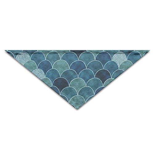 OLOSARO Dog Bandana Blackish Green Triangle Bibs Scarf Accessories for Dogs Cats Pets Animals]()