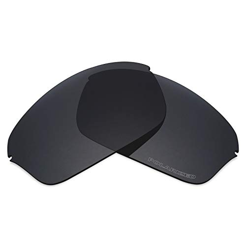 (Mryok+ Polarized Replacement Lenses for Oakley Half Wire 2.0 - Stealth)