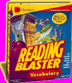 Knowledge Adventure Reading Blaster - Reading Blaster Vocabulary Ages 9-12