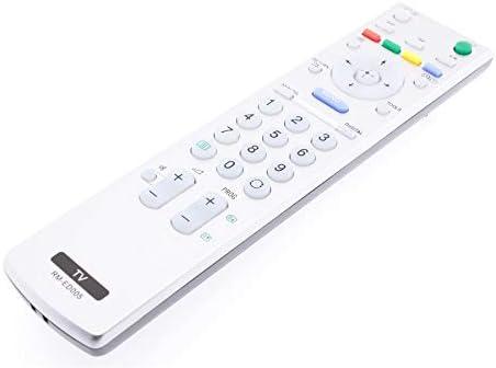 Frompt2y Telecomando di ricambio per televisori LCD TV Sony RM-ED005 [Non richiede configurazione o programmazione – 2 batterie AA incluse]