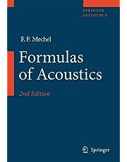 Formulas of Acoustics