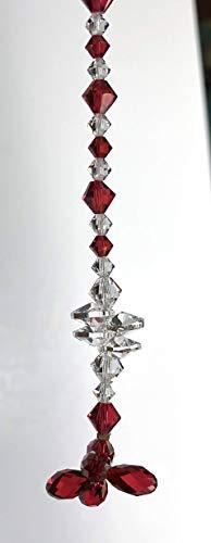 Sun Catcher, Swarovski Crystals, Garden Decor, Glass Art, Crystal Suncatcher, Hanging Crystal, Glass Suncatcher, Window Decor, 8874 from Judy Evans Collection