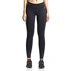 Baleaf Women's Ankle Legging Inner Pocket Non See-Through Fabric