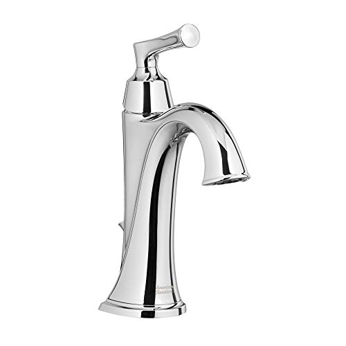 - American Standard 7722.101.002 Estate Single Hole Bathroom Faucet - Includes Speed Connect Metal Pop-Up Drain