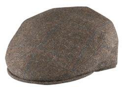 X-Large Brown Ivy League Italian Wool Cap