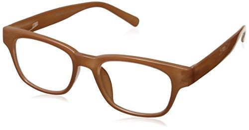 Peepers Au Naturel Retro Reading Glasses, Peach, - Au Sunglasses
