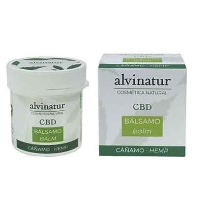Bálsamo CBD Menta BIO 150 mg 100 ml. Alvinatur. Alivio del ...