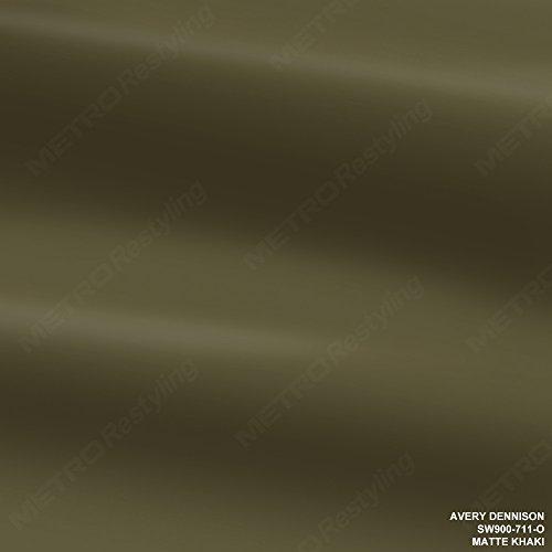 Avery SW900-711-O MATTE KHAKI 1ft x 1ft (1 Sq/ft) Supreme Vinyl Car Wrap ()