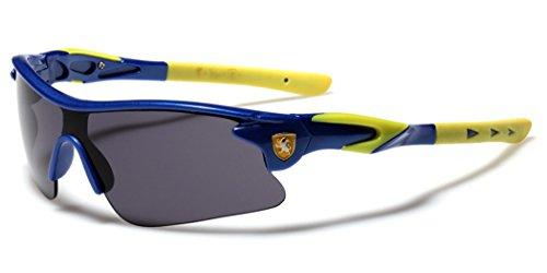 Half Frame Kids Teen Age 8-16 Performance Baseball Cycling Running Sport Sunglasses - - Bike Online Sunglasses