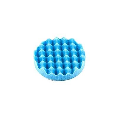 """Optimum (22592) Waffle Foam Pad (Softest Finishing), Blue, 3.25\"""": Automotive [5Bkhe0103211]"""