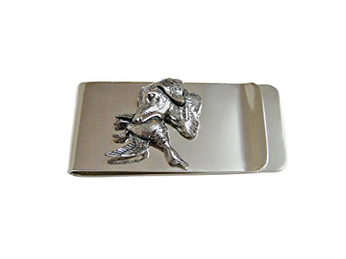 Labrador Dog with Duck Money Clip (Duck Money Clip)