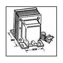 Power Transformers 115/230V 250VA XFMR STEP-UP/STEP-DOWN