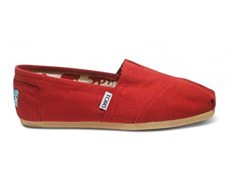 Toms Women's Canvas Classic Red 001001B07-RED (SIZE: 10) (Tom Red)