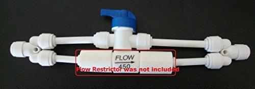 Membrane flush kit for 50/100/150 GPD RO system